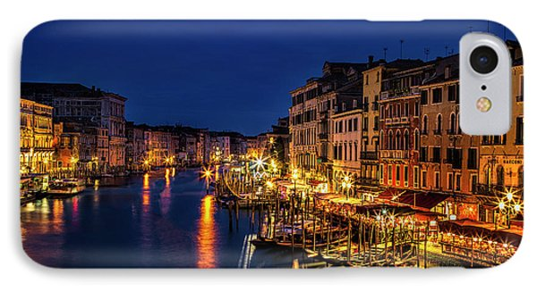 IPhone Case featuring the photograph Twilight From The Rialto Bridge by Andrew Soundarajan