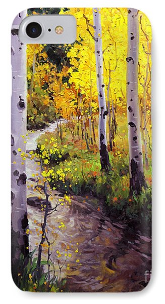 Twilight Glow Over Aspen IPhone Case by Gary Kim