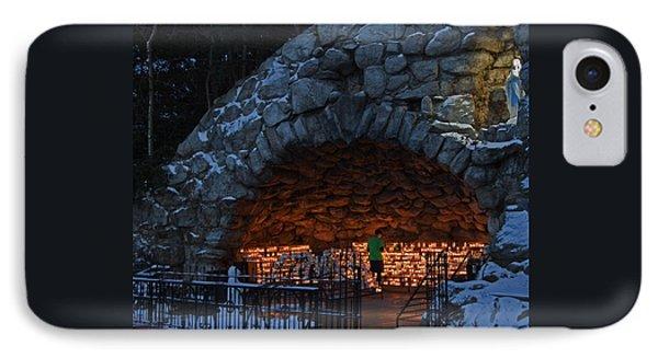 Twilight Grotto Prayer IPhone Case by John Stephens