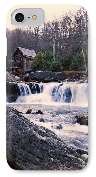Twilight Image Of Glade Creek Grist Mill IPhone Case