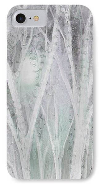 Twilight In Gray I IPhone Case by Shadia Derbyshire
