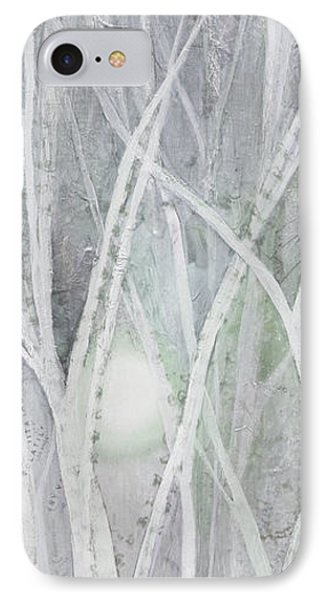 Twilight In Gray II IPhone Case by Shadia Derbyshire