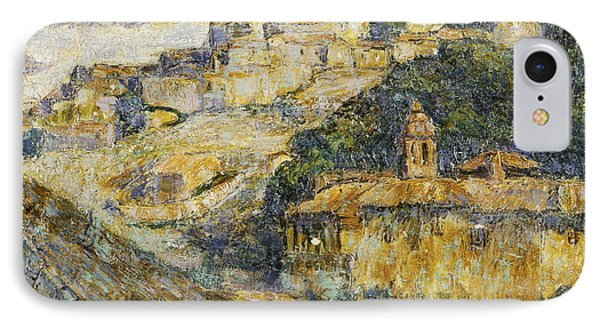Twilight In Spain IPhone Case by Ernest Lawson