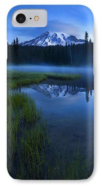 Twilight Mist Rising Phone Case by Mike  Dawson