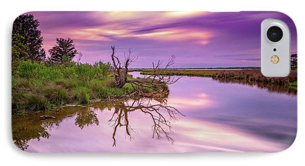 Twilight On Assateague Island IPhone Case by Rick Berk