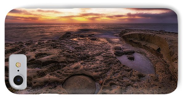 IPhone Case featuring the photograph Twilight On The Pacific - California Coast by Photography  By Sai