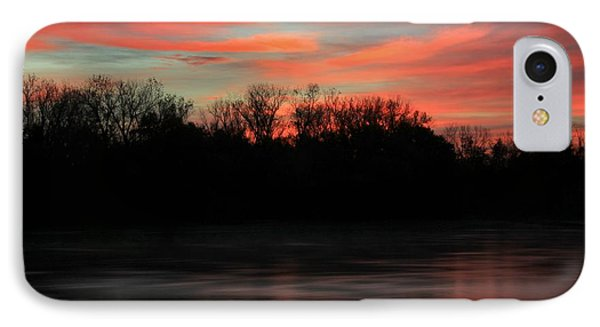 IPhone Case featuring the photograph Twilight On The River by Chris Berry