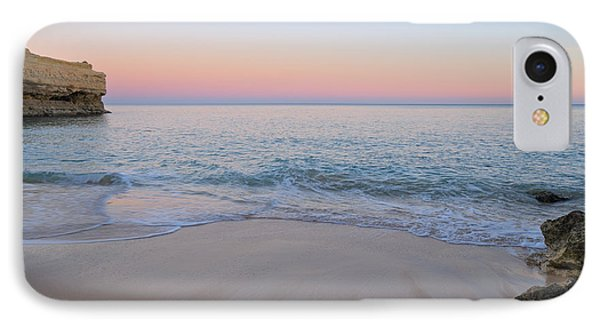 Twilight Scene In Albandeira Beach IPhone Case
