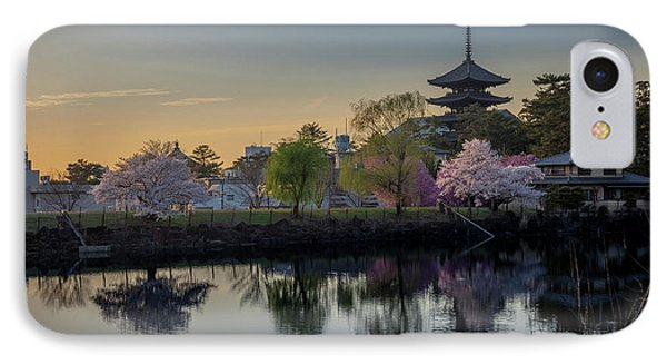 IPhone Case featuring the photograph Twilight Temple by Rikk Flohr