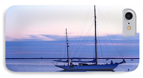 IPhone Case featuring the photograph Twilight Voyage by Jan Cipolla