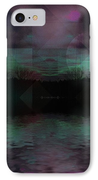 IPhone Case featuring the digital art Twilight Zone by Mimulux patricia no No