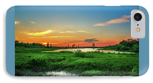 IPhone Case featuring the photograph Twilights Arrival by Marvin Spates