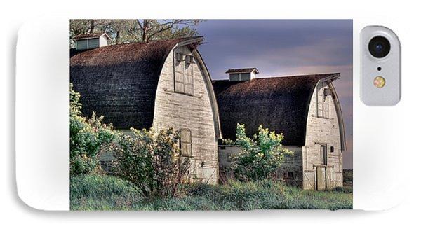 Twin Barns, Nisqually, Wa IPhone Case