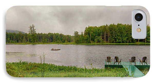 IPhone Case featuring the photograph Twin Ponds Landscape by David Patterson