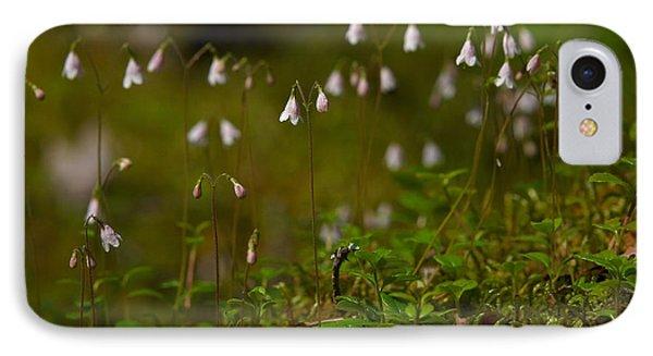 Twinflower IPhone Case by Jouko Lehto