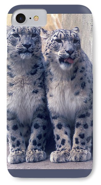 Twins IPhone Case by Greg Slocum