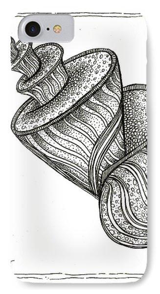 Twirly Shell Phone Case by Stephanie Troxell
