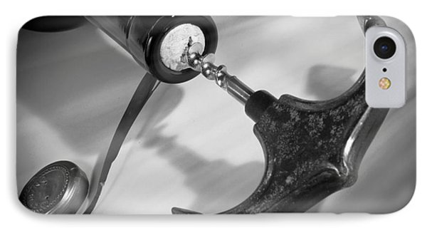 Twist And Pull Corkscrew IPhone Case by Stefano Senise