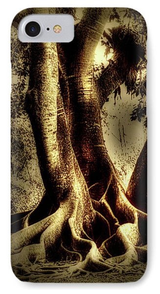 Twisted Trees IPhone Case by Tom Prendergast