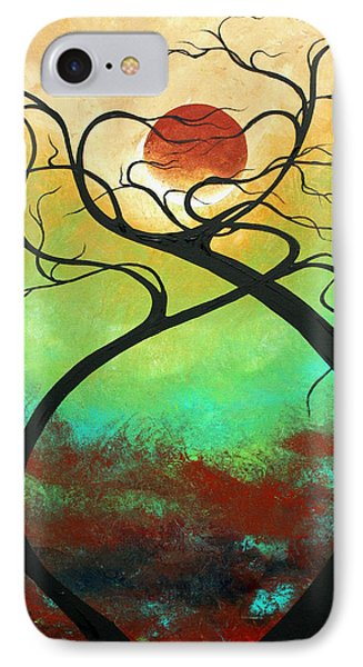 Twisting Love II Original Painting By Madart IPhone 7 Case