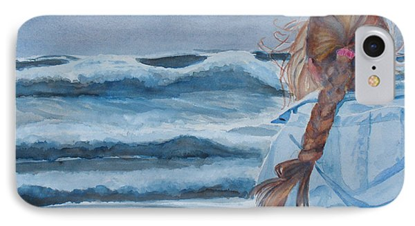 Twixt Wind And Water II IPhone Case by Jenny Armitage