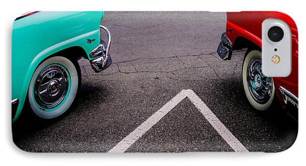 IPhone Case featuring the photograph Two 1958 Ford Crown Victorias by M G Whittingham