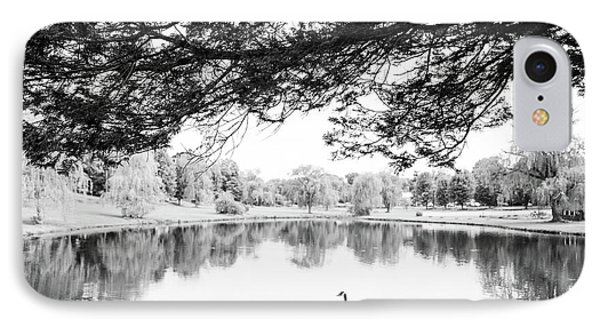 IPhone Case featuring the photograph Two At The Pond by Karol Livote
