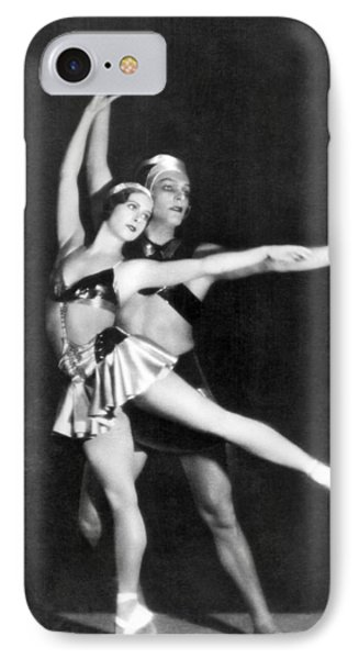 Two Ballet Dancers IPhone Case by Underwood Archives