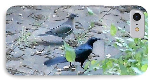 Two Birds IPhone Case by Felipe Adan Lerma
