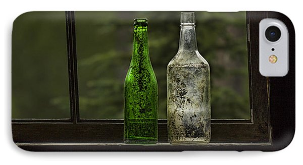 Two Bottles In Window IPhone Case
