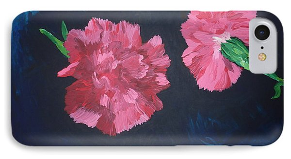 Two Carnations IPhone Case by Joshua Redman
