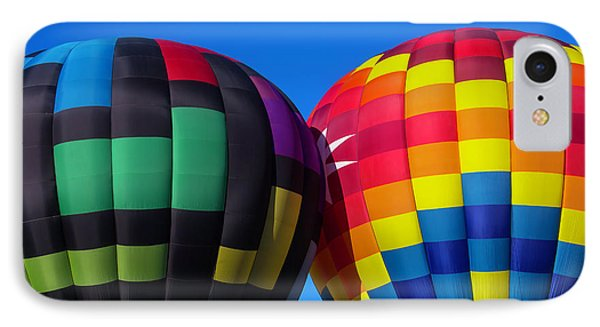 Two Colorful Balloons IPhone Case by Garry Gay