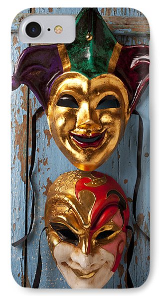 Two Decortive Masks Phone Case by Garry Gay