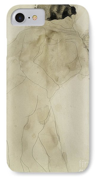 Two Embracing Figures IPhone Case by Auguste Rodin