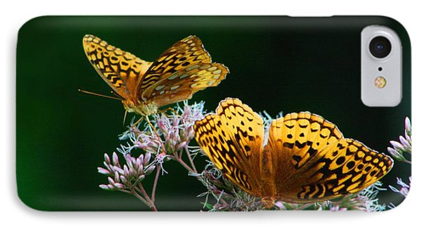 Two Fritillaries IPhone Case