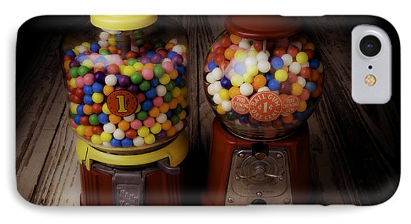 Two Gumball Machines IPhone Case by Garry Gay