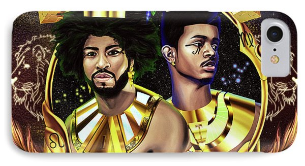 Two Kings Ian And Trevor Jackson IPhone Case by Kenal Louis