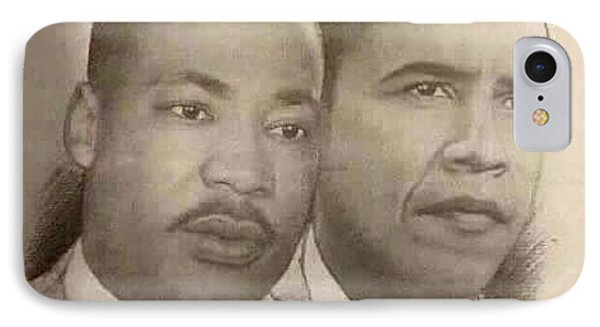 Two Kings Two Dreams IPhone Case by Elton Thomas