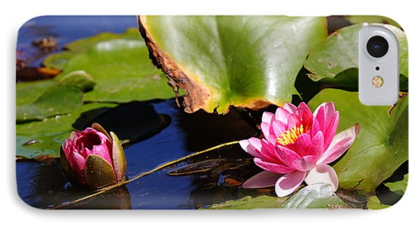 IPhone Case featuring the photograph Two Lilies by Richard Patmore