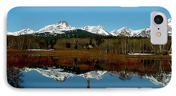 Two Med River Reflection IPhone Case