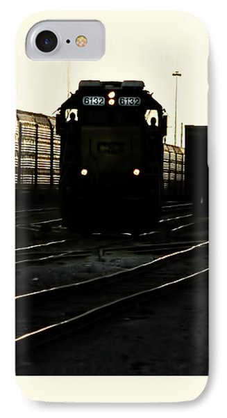 Two Men And 6132 IPhone Case by Marvin Spates