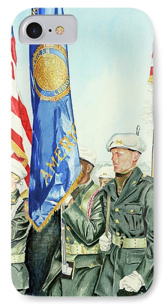 Two Months After 9-11  Veteran's Day 2001 Phone Case by Carolyn Coffey Wallace