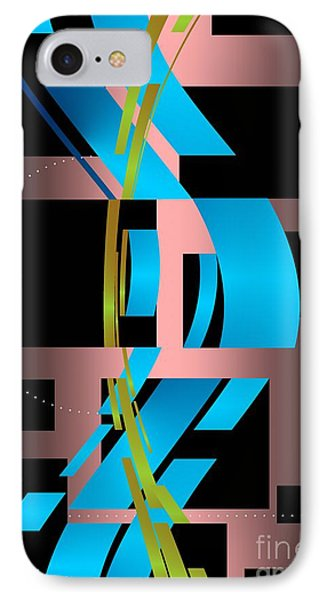 IPhone Case featuring the digital art Two Possibilities by Leo Symon