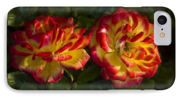 Two Roses Phone Case by Svetlana Sewell