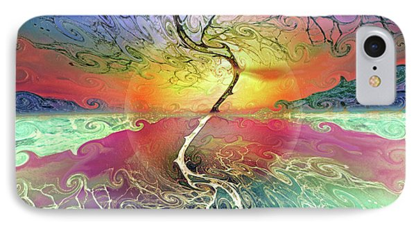 Two Sides To This Tree IPhone Case by Tara Turner