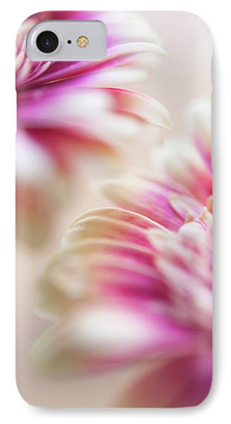 IPhone Case featuring the photograph Two Souls. Macro Gerbera by Jenny Rainbow