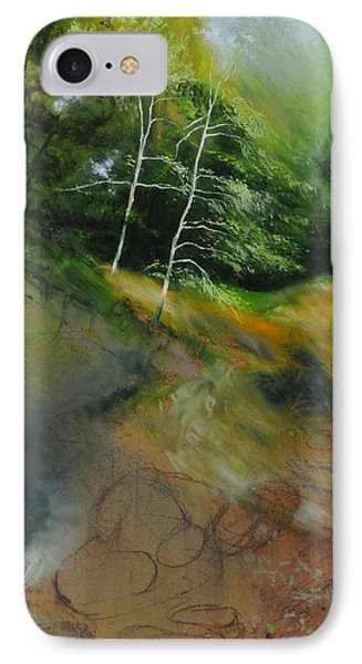 Two Trees In Light Phone Case by Harry Robertson