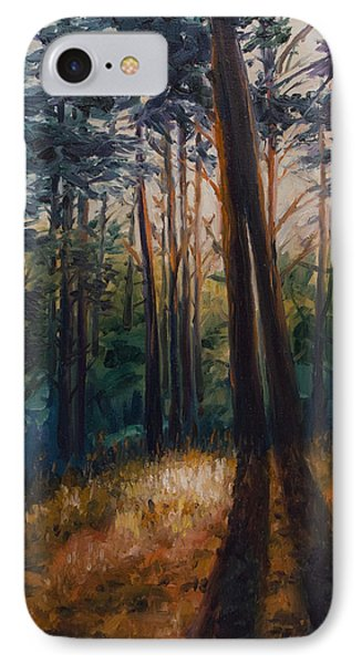 Two Trees IPhone Case by Rick Nederlof