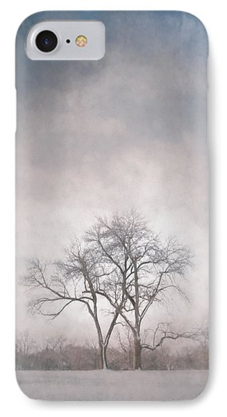 Two Trees IPhone Case by Scott Norris