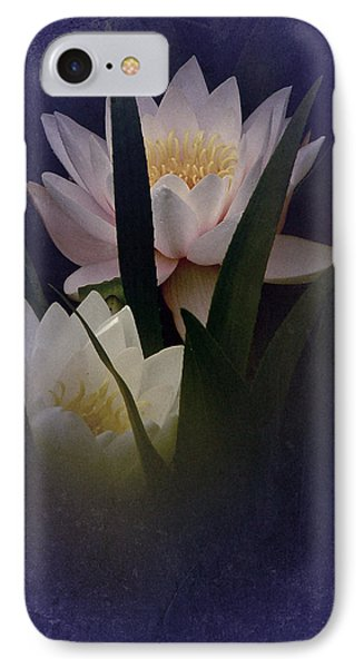 IPhone Case featuring the photograph Two Water Lilies by Richard Cummings